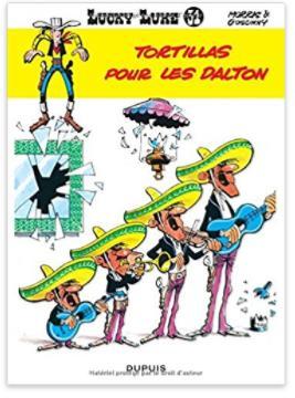 """Sélection de bandes dessinées en promotion - Ex : Lucky Luke - tome 31 """"Tortillas pour les Daltons"""""""
