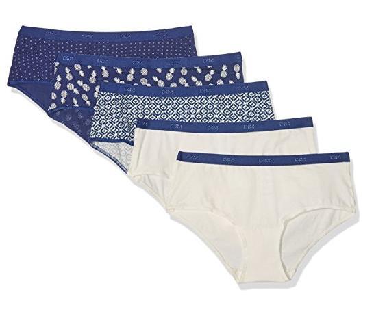 Lot de 5 boxers femme Dim Les Pockets (Taille 40)