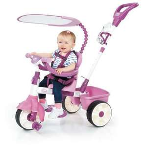[Cdiscount à Volonté] Tricycle évolutif Little TIkes Basic Edition - rose