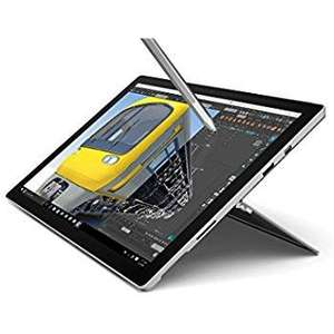 "Sélection de tablettes tactiles Microsoft Surface Pro 4 en promotion - Ex : 12.3"" (i5, 8 Go de RAM, 256 Go en SSD) + stylet Surface"