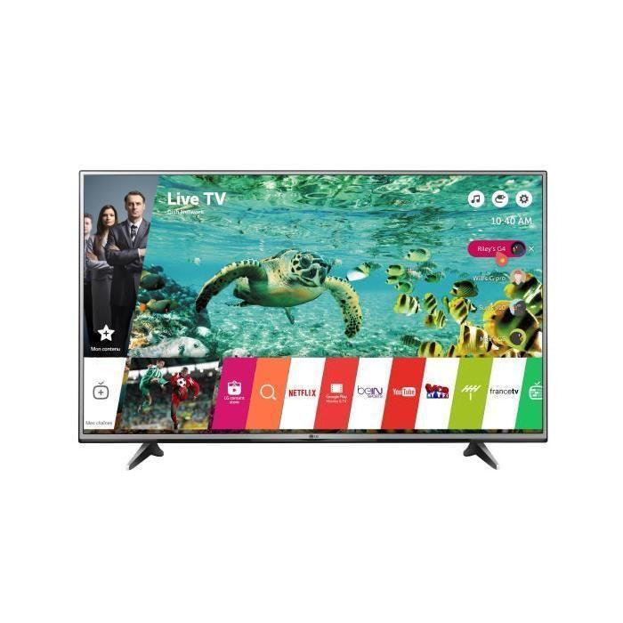 "TV LED 55"" LG 55UH615V - 4K UHD, Smart TV, HDR 100Hz"