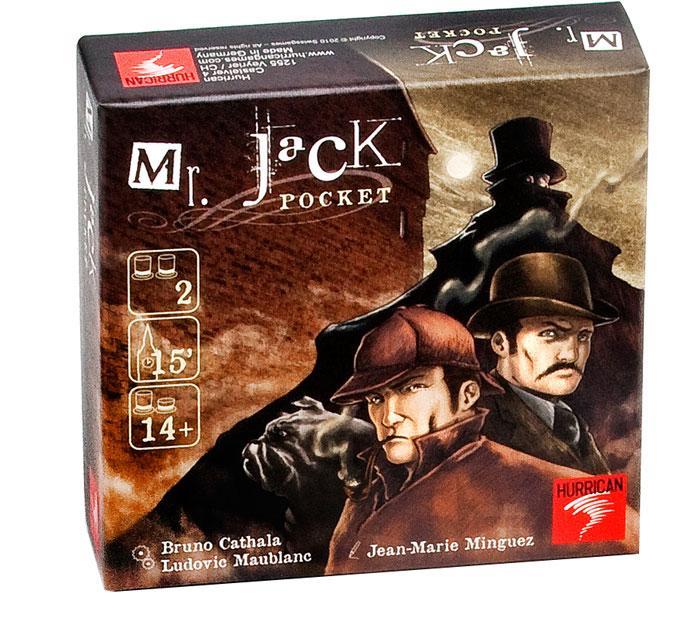 Sélection de jeux de société en promotion - Ex: Mr Jack Pocket
