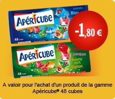 Apéricubes 48 cubes