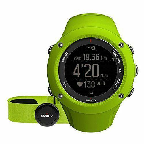 Montre GPS Suunto Ambit3 Run avec ceinture cardiofrequencemetre
