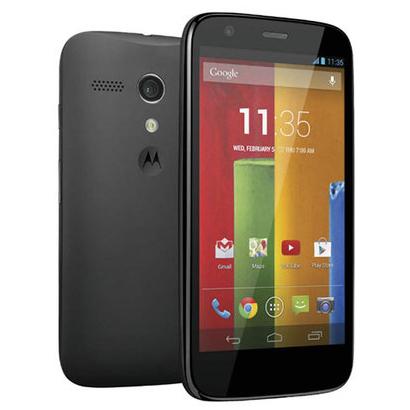 "Smartphone 4.5"" Motorola Moto G 16 Go avec forfait sans engagement RED + Enceinte Bluetooth Qdos Q-BOPZ / 140.99€ via Buyster sinon"