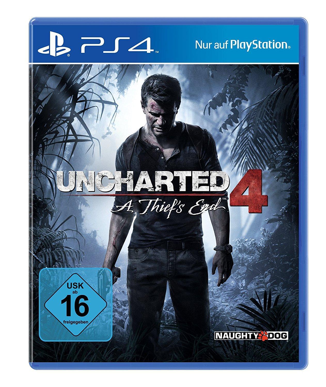 Jeu Vidéo Uncharted 4: A Thief's End sur PS4