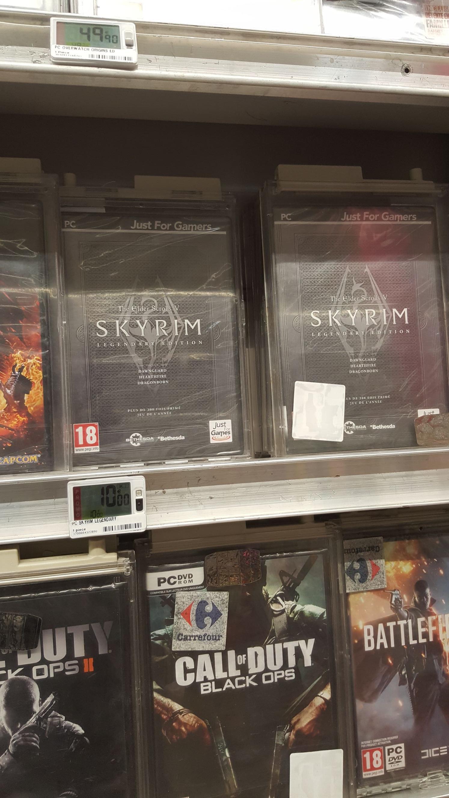 Jeu Vidéo Skyrim: Legendary Edition sur PC