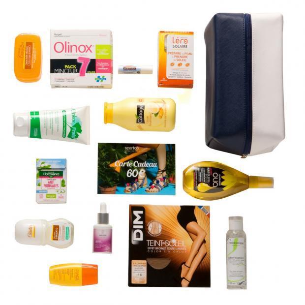 Box contenant 13 Produits de grandes marques + 60€ en bon d'achat à utiliser chez Spartoo