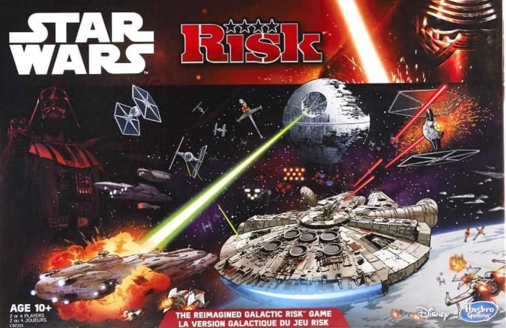 Jeu de société Risk Star Wars