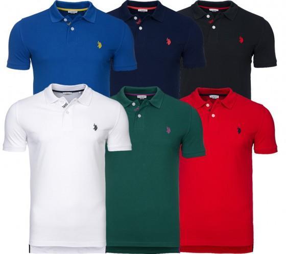 Polo U.S ASSN - Homme (plusieurs coloris)