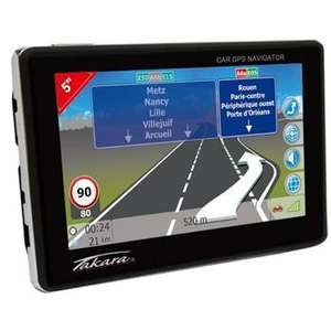 "GPS 5"" Takara GP96V2 - Europe, 16 pays (via ODR de 20€)"