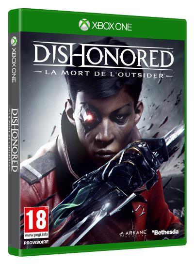 Précommande Dishonored : La mort de l'Outsider (PS4, Xbox One, PC) +5€ offerts en chèque cadeau
