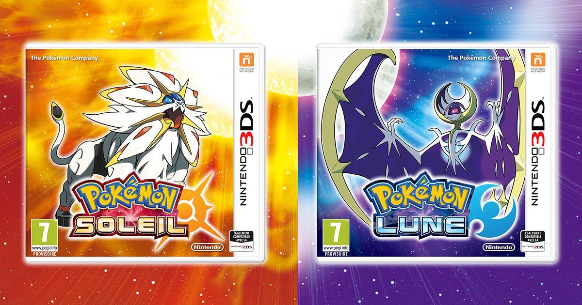 Pokémon Soleil ou Lune sur Nintendo 3DS (via 50% sur la carte)