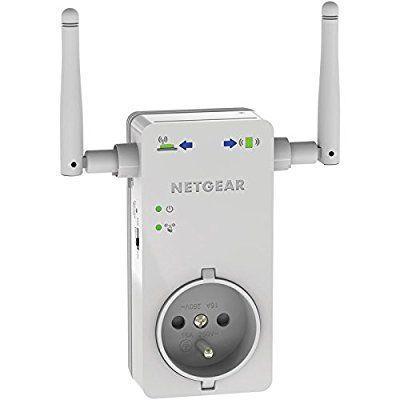 Répéteur Wi-Fi Netgear WN3100RP-100FRS avec Prise Intégrée - 300 Mbps, 1 Port Fast Ethernet