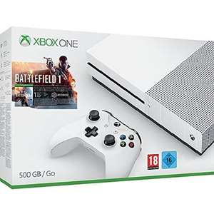 Sélection de packs Xbox One S en promotion - Ex : Console Xbox One S (500 Go) + Battlefield 1 ou Forza Horizon 3 ou Minecraft