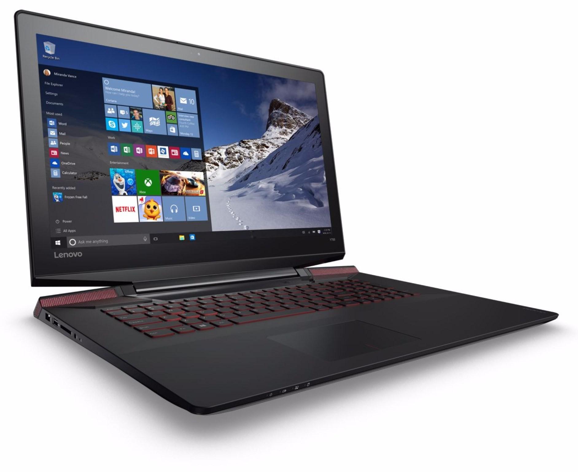 """PC Portable 17.3"""" Lenovo Ideapad Y700-17ISK-7FR - i7-6700HQ, 8 Go de Ram, 256 Go SSD, GeForce GTX960M"""
