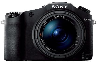 Appareil Photo Numérique Bridge Expert Sony DSC-RX10 II Noir - CMOS Exmor RS, 20,2 Mpix, 24-200mm à Ouverture Constante F2.8, 4K