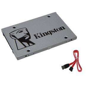 "SSD interne 2.5"" Kingston SSDNow UV400 - 240 Go + Câble SATA"