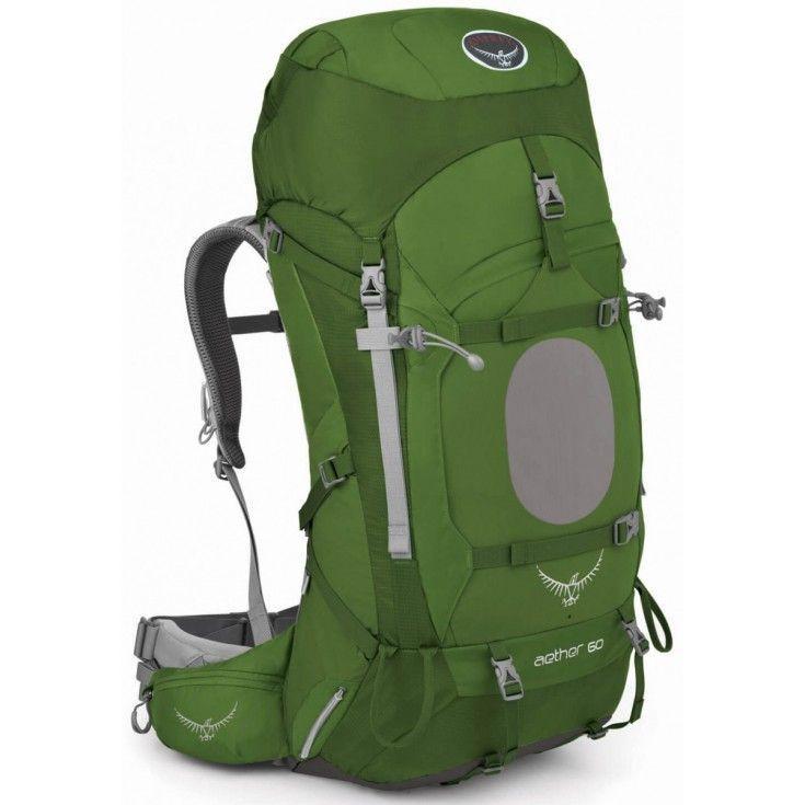 Sac à dos Osprey Aether 60 Bonsai 2016 pour Homme - Vert
