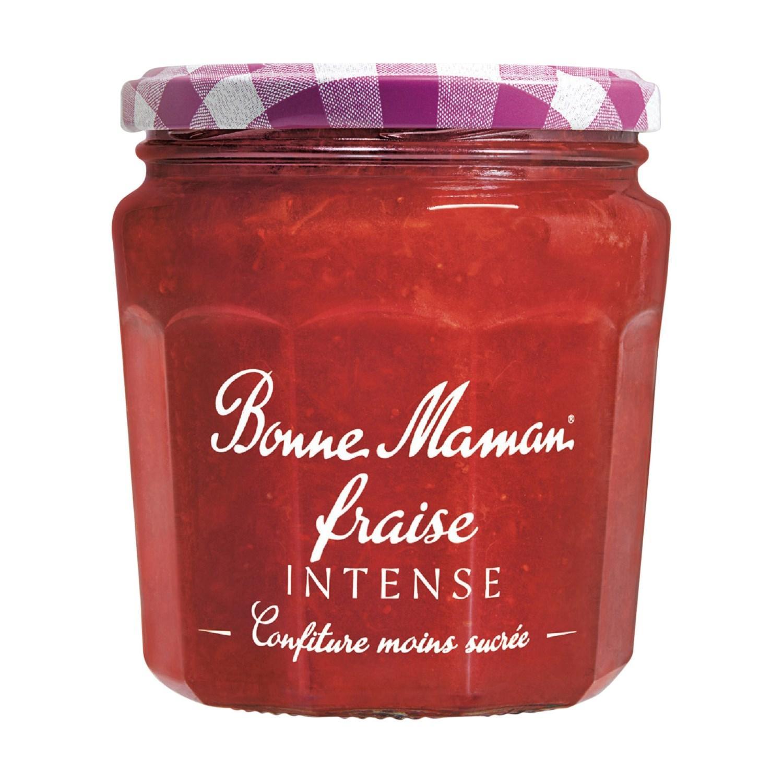Pot de confiture Bonne Maman Fruits Intenses gratuit - fraise ou orange amère, 335 g (via BDR + Shopmium)