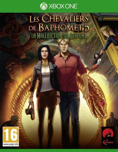 Les Chevaliers de Baphomet : La Malédiction du Serpent sur Xbox One (dématérialisé)