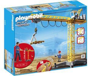 Jouets Playmobil - Citadelle secrète du Dragon - 5480 ou Grande grue de chantier radio-commandée - 5466 (via 44.95€ sur la carte de fidélité)