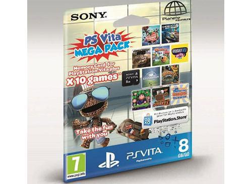 Carte mémoire Sony PS Vita 8 Go + 10 jeux (Dématérialisés)