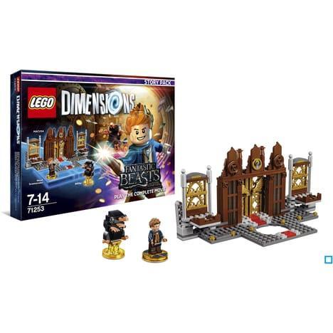 Sélection de jouets Lego Dimension en promotion - Ex : Pack Histoire Les Animaux Fantastiques