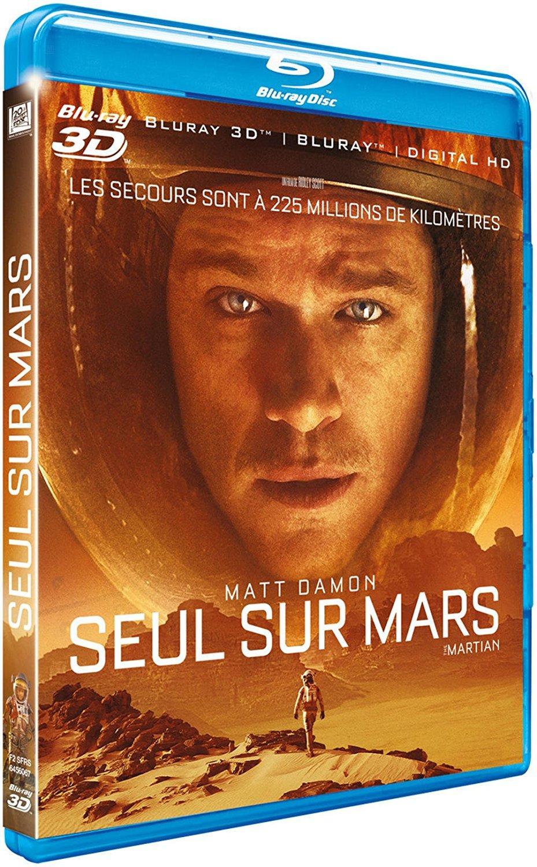 Sélection de Blu-ray 3D + Blu-ray + digital HD en promotion - Ex : Blu-Ray : Seul sur Mars