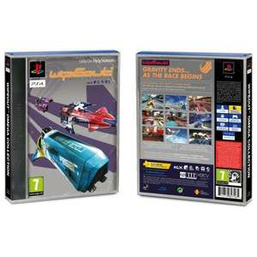 WipEout Omega Collection Limited Edition (avec pochette classique) sur PS4