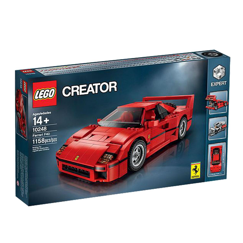 Sélection de jeux Lego en promotion - Ex : Lego 10248 Creator Expert : La Ferrari F40