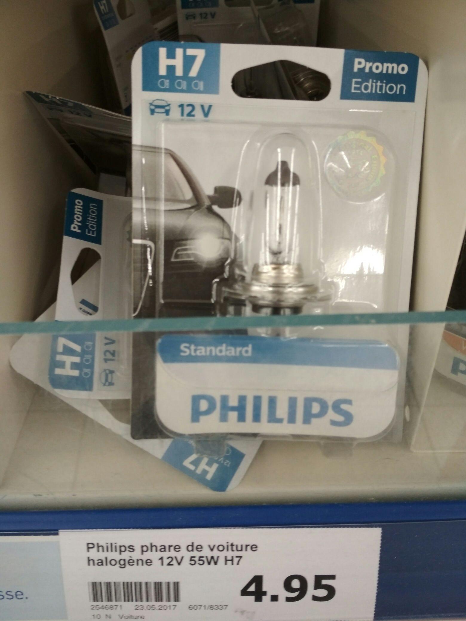 Ampoule Philips H7 pour phare de voiture