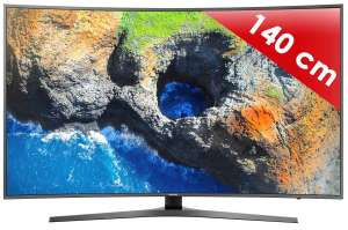 """TV 55"""" Samsung 55MU6645 - Incurvée, Dalle VA, UHD (via ODR 200€)"""