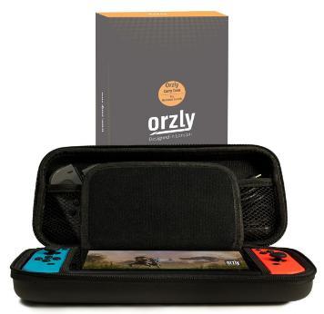 Housse de Rangement Orzly ORZCARRYBAGNSW Rigide et Zippée pour Console Nintendo Switch