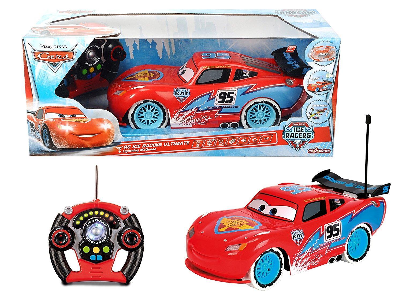 Voiture radiocommandée 1/12ème McQueen Cars Ice Racers