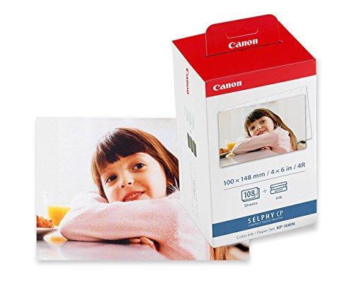 [Prime] Kit d'impression Canon KP-108IN - 3 Cartouches couleur + 108 Papiers photo (10x15)