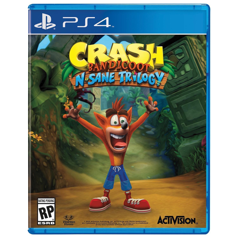 Crash Bandicoot N'Sane Trilogy sur PS4 (via 5€ sur la carte)