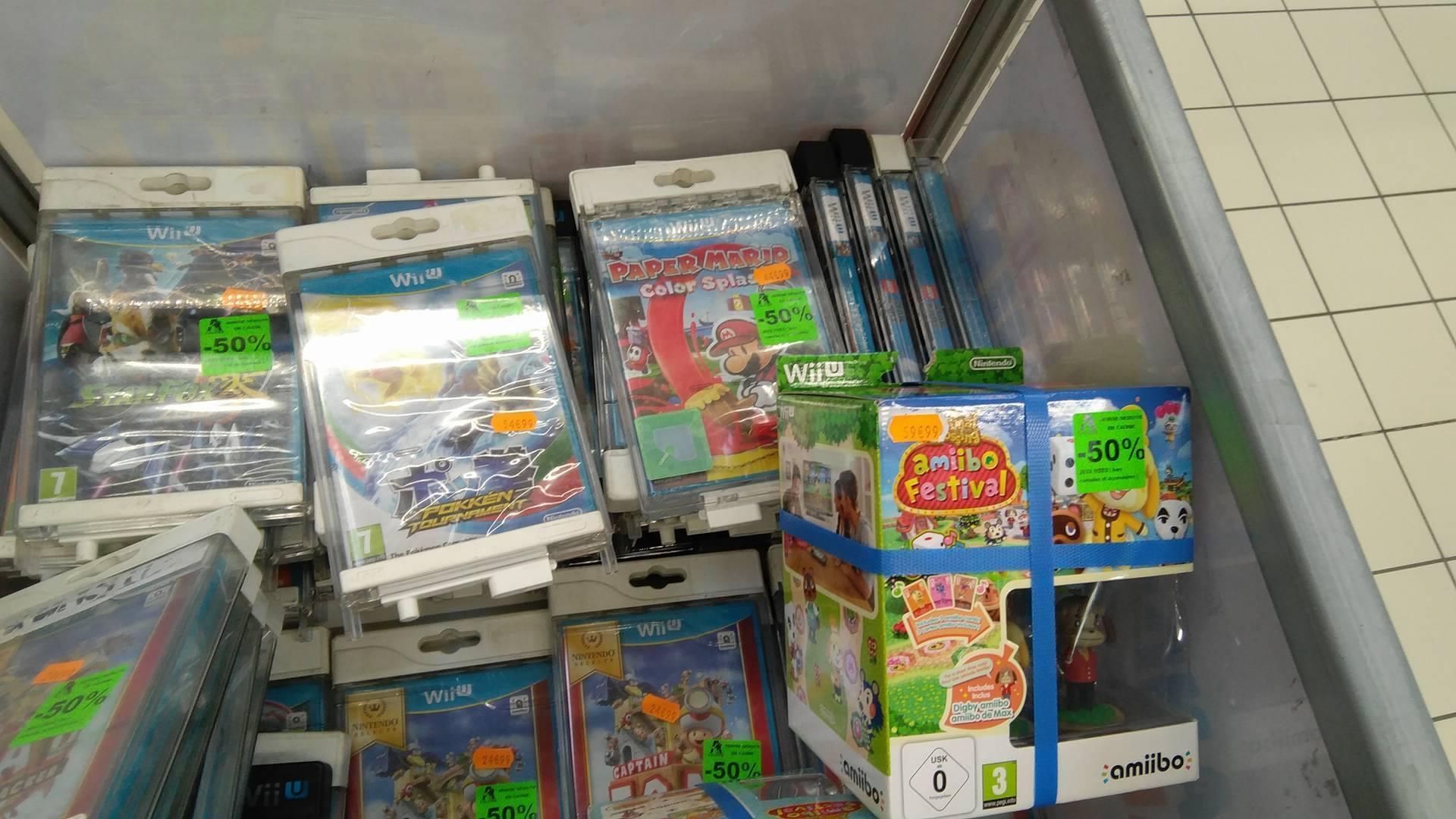 50% de réduction sur une sélection de jeux Nintendo Wii U - Ex : Pokken Tournament