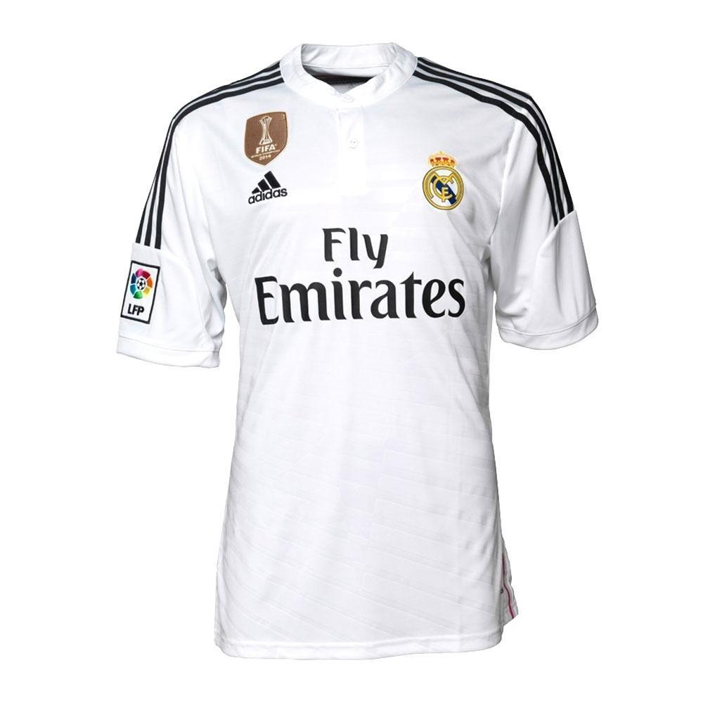 Sélections de maillots de foot en promotion - Ex : Real Madrid 2014/2015
