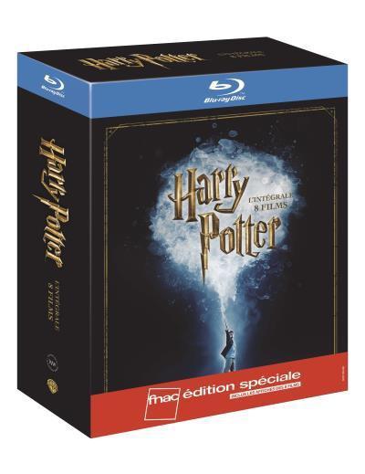 Intégrale Harry Potter en Blu-ray - Edition spéciale
