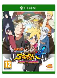 Naruto Shippuden Ultimate Ninja Storm 4 Road to Boruto sur Xbox One et PS4