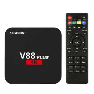 Box TV Scishion V88 Plus - 4K, Android 6.0, RK3229, RAM 2 Go, ROM 8 Go