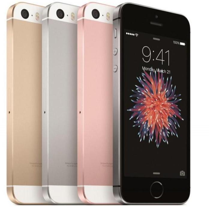 "Smartphone 4"" Apple iPhone SE - 16Go (Coloris au choix)"