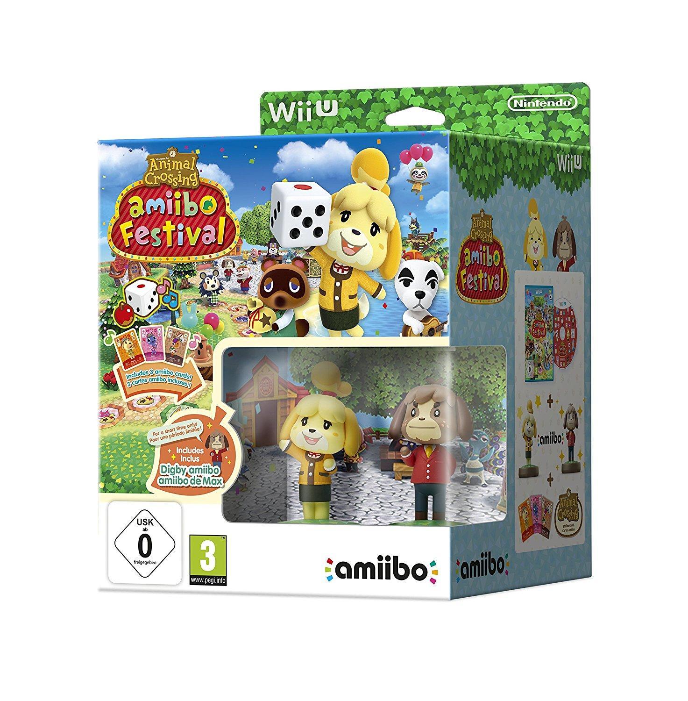 Animal Crossing Amiibo Festival sur Wii U + 2 Figurines