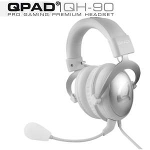 Casque Gaming QPAD QH-90 Blanc (-10€ supplémentaire via Buyster)