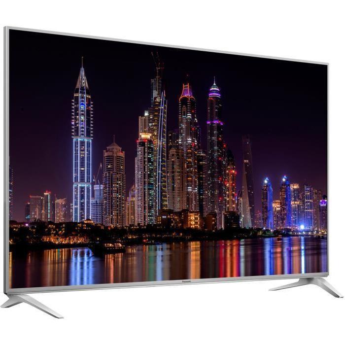 """[Cdiscount à Volonté] TV 58"""" Panasonic TX-58DX780 - LED, 4K UHD, Smart TV, 3D, 3 x HDMI, Classe énergétique A"""
