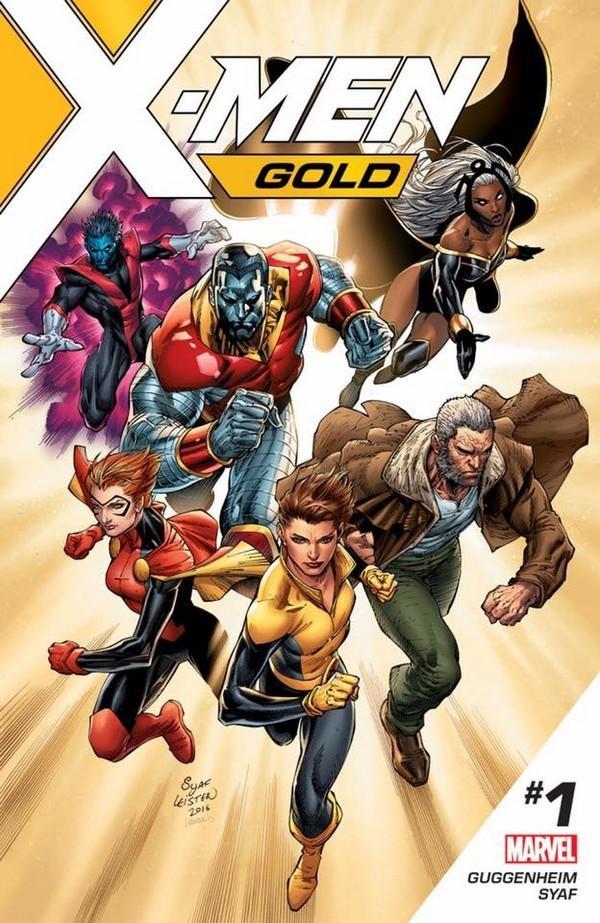 Sélection de comics numériques (e-books) Marvel gratuits - Ex : X-Men Gold #1