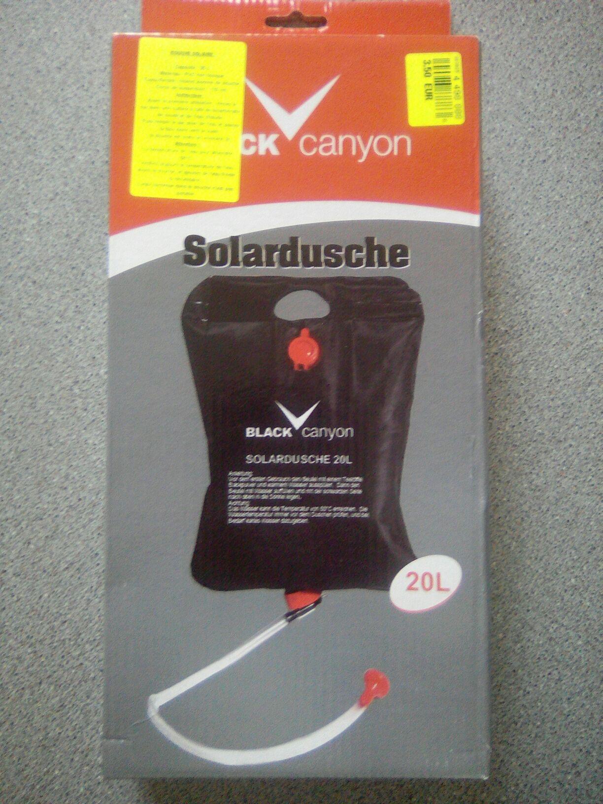 Douche solaire Black Canyon - 20L