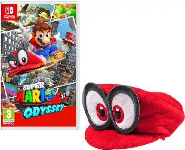 [Précommande] Super Mario Odyssey sur Nintendo Switch + casquette Mario offerte