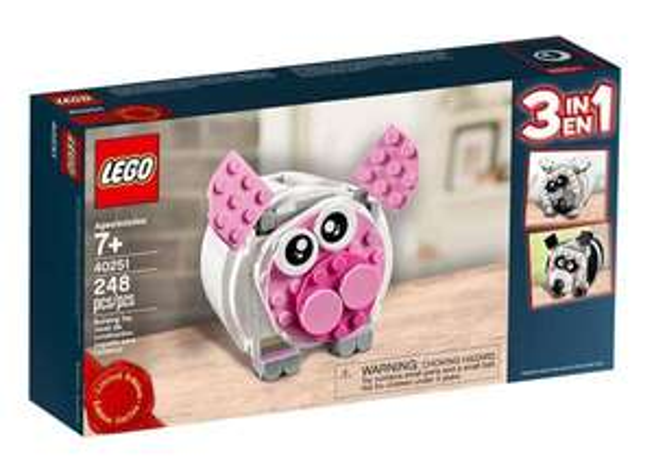 Mini tirelire 3 en 1 exclusive LEGO offerte à partir de 55€ d'achat
